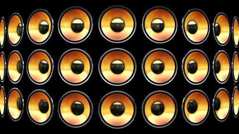 Disco Speaker BB2 HD Stock Video Footage