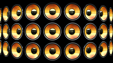 Disco Speaker BB2 HD Animation