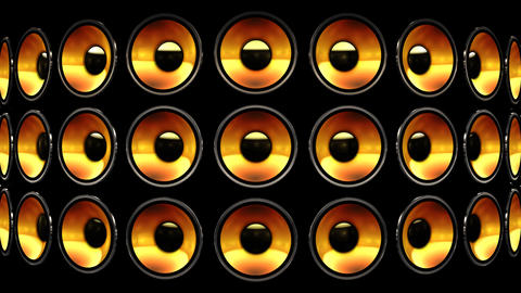 Disco Speaker BB4 HD Stock Video Footage
