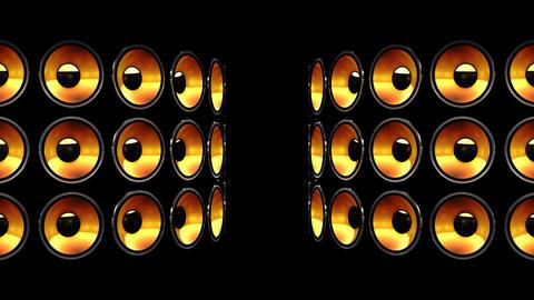 Disco Speaker BB6 HD Stock Video Footage