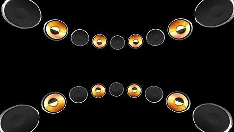 Disco Speaker CB2 HD Stock Video Footage