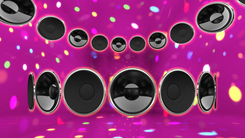 Disco Speaker CC2 HD Animation