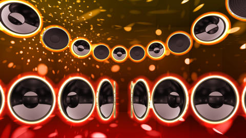 Disco Speaker CS2 HD Animation