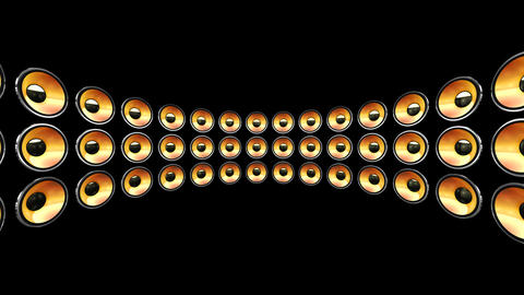 Disco Speaker DB2 HD Stock Video Footage