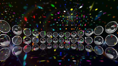 Disco Speaker DD2 HD Stock Video Footage