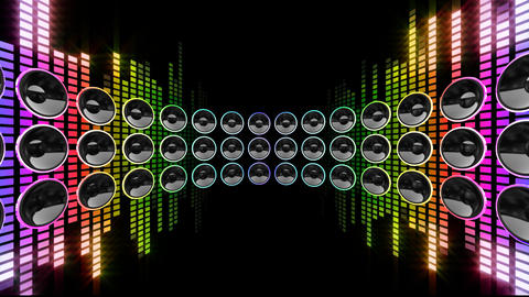 Disco Speaker DR1 HD Animation