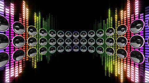 Disco Speaker DR1 HD Stock Video Footage