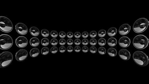 Disco Speaker DS1 HD Stock Video Footage