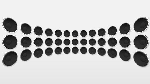 Disco Speaker DW1 HD Stock Video Footage