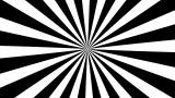 B&W Psychedelic Spinning Loop 01 stock footage