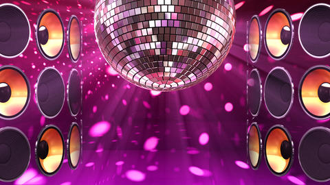 Disco Speaker BB7 HD Animation