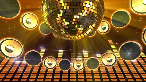 Disco Speaker CD3 HD Stock Video Footage