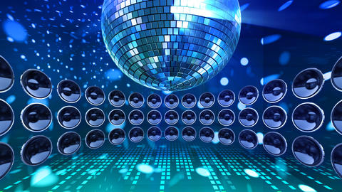 Disco Speaker DC3 HD Stock Video Footage