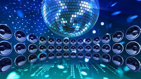 Disco Speaker DC3 HD Stock Video Footage