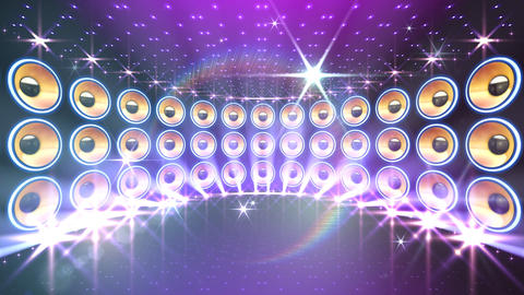 Disco Speaker DW3 HD Stock Video Footage