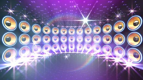 Disco Speaker DW3 HD Stock Video Footage