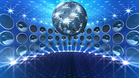 Disco Speaker DW5 HD Stock Video Footage