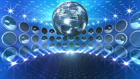 Disco Speaker DW5 HD Stock Video Footage