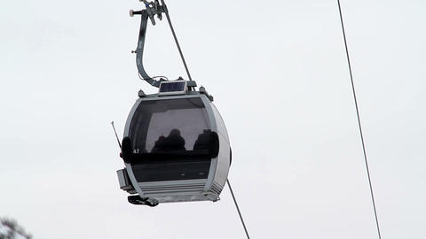 Ski Lift Stock Video Footage