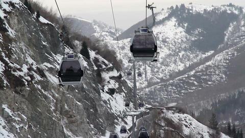 Ski Lift Stock Video Footage
