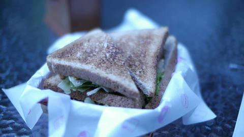Sandwich 01 Stock Video Footage