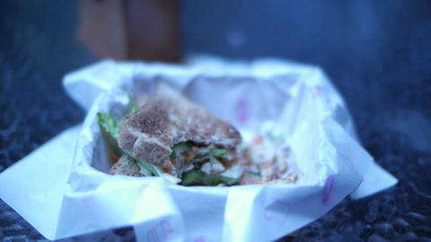 Sandwich 01 Stock Video Footage