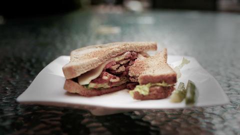 Sandwich 03 Footage