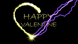 HAPPY VALENTINE Stock Video Footage
