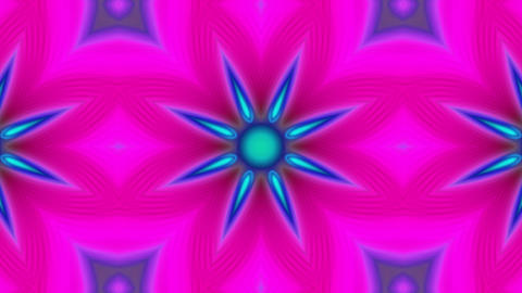 Psychedelic Kaleidoscope 04 stock footage