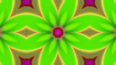 Psychedelic Kaleidoscope 04 Stock Video Footage