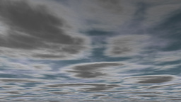 Animated clouds dark Stock Video Footage