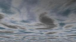 Animated clouds dark Animation