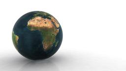 Earth Globe loop Animation