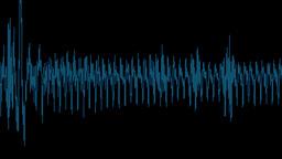 Audio waveform Stock Video Footage
