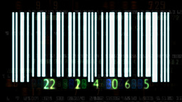 Barcode numbers Animation