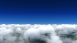 Cloud fly through Stock Video Footage