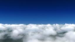 Cloud fly through Animation
