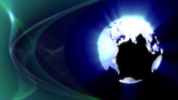 Earth Globe loop Stock Video Footage