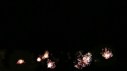 Fireworks display,find more in my gallery Stock Video Footage