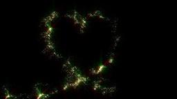 Heart of stars Stock Video Footage