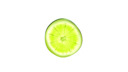 Lime slice ,seamless loop Stock Video Footage