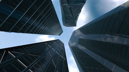 Corporate buildings Stock Video Footage