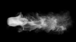 Smoke drift Animation