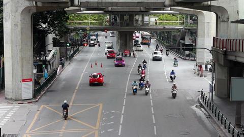 Bangkok streets Stock Video Footage