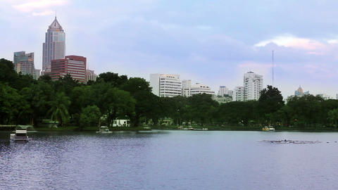 lovely park Stock Video Footage