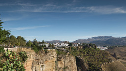 picturesque spanish town of ronda Footage