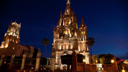 san miguel allende mexico picturesque Footage