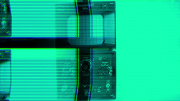 Scientific oscilloscope Footage