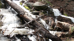 waterfall sequoia national park california usa Footage