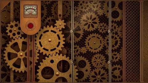 Steampunk Mechanical Frames v2 After Effects Template